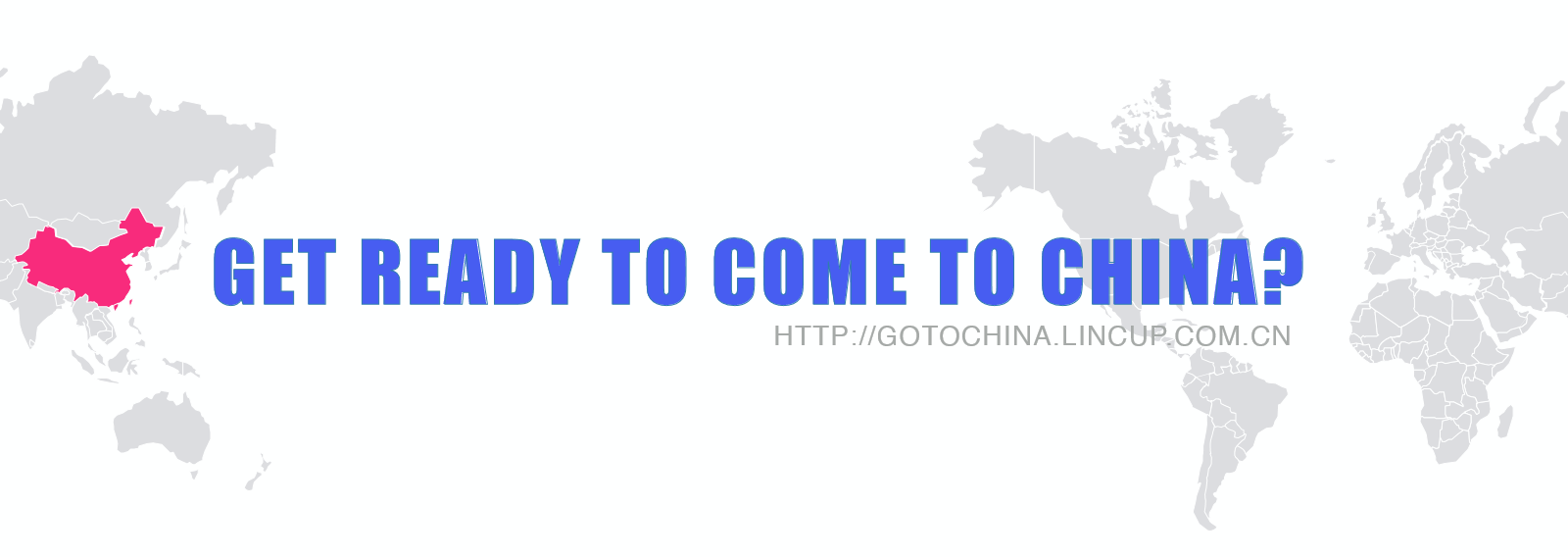 get ready to come to China?